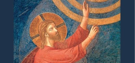 Affresco attribuibile al giovane Giotto, Ascensione,1291-1295, Basilica Superiore di S.Francesco, Assisi