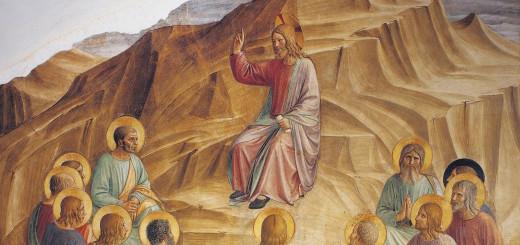 Beato Angelico, Discorso della montagna, 1438-1440, Museo Nazionale di San Marco, Firenze
