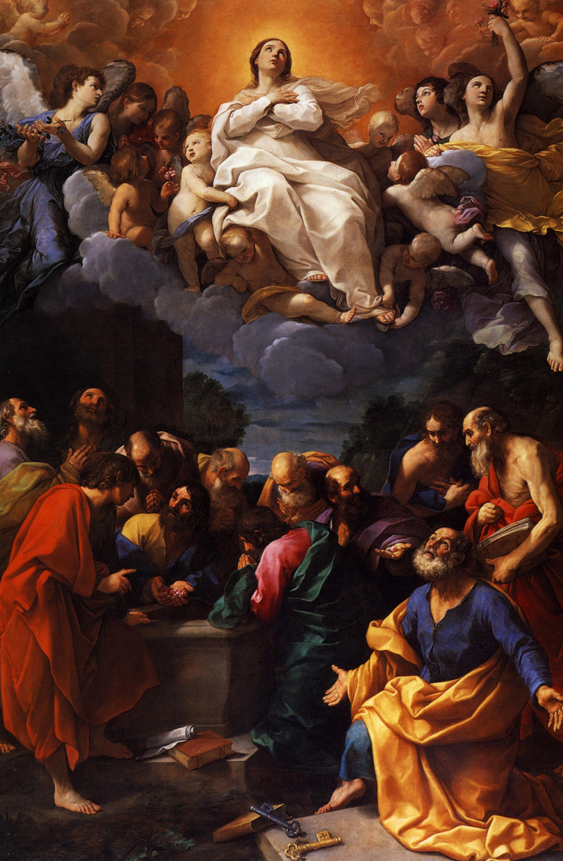 Guido Reni, Assunzione di Maria Vergine, 1615-1620, Chiesa di S.Ambrogio, Genova