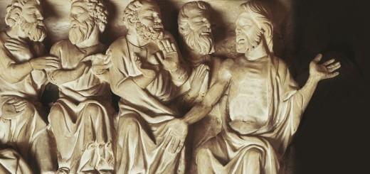 Giovanni Pisano, Pulpito (particolare), 1301, Chiesa di S.Andrea, Pistoia