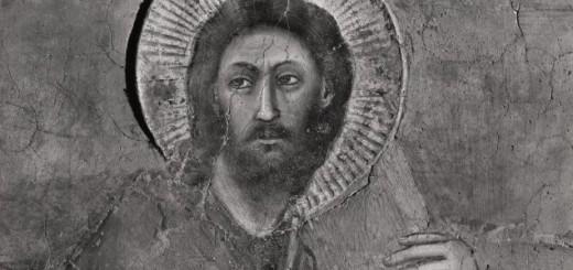 Giotto,Cristo porta la croce (particolare), affresco, primi anni del XIV secolo, Cappella degli Scrovegni, Padova