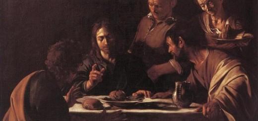 Caravaggio, Cena in Emmaus, 1606, Milano, Pinacoteca di Brera