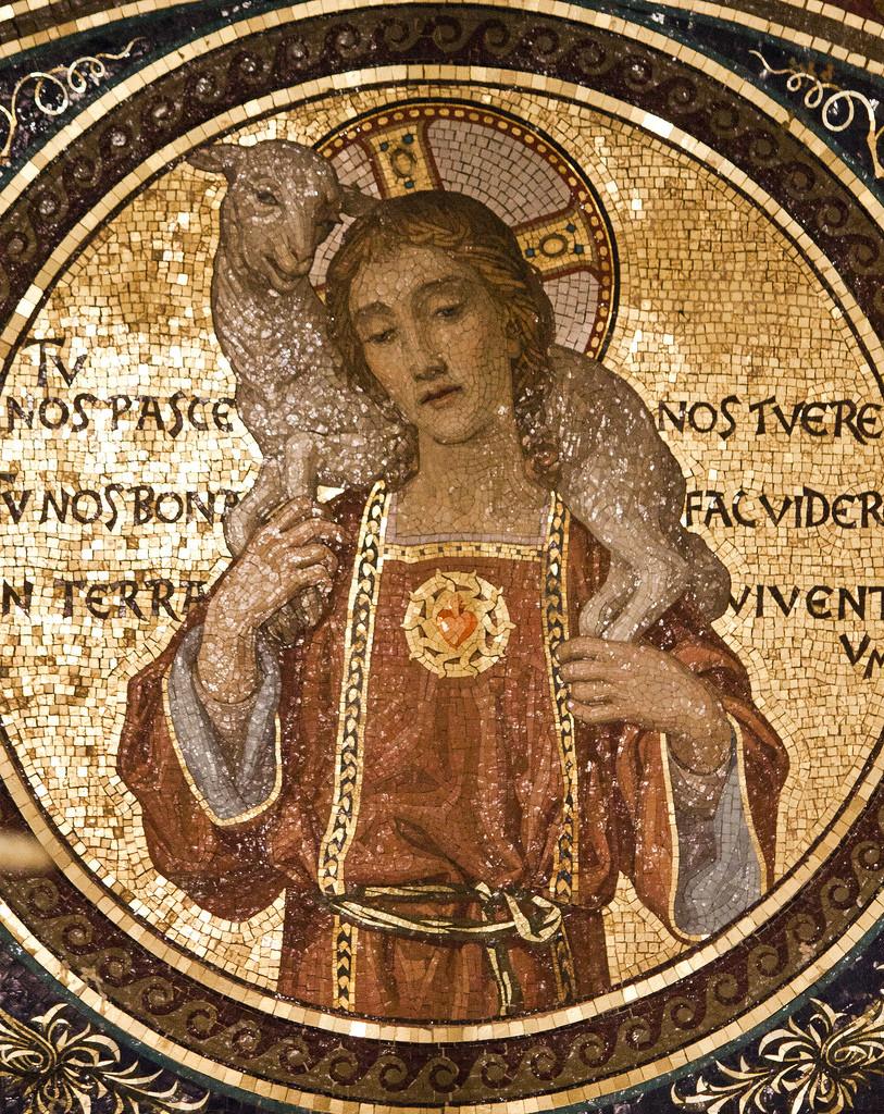Il Buon Pastore, Cripta di S.Lorenzo Fuori le Mura, Roma