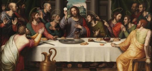 Juan de Juanes, Ultima Cena, 1562, Museo del Prado, Madrid