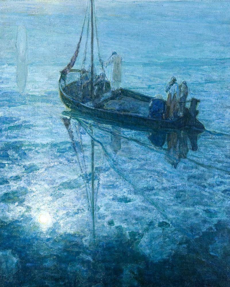 Henry Ossawa Tanner, I discepoli videro Gesù camminare sulle acque