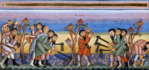 La parabola dei lavoratori nella vigna, Codex Aureus Eprernacensis
