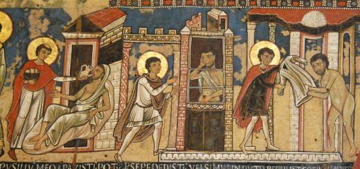 Opere di Misericordia, oratorio san Gregorio Nazianzeno, presso Santa Maria in Campo Marzio Roma