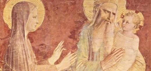 Beato Angelico, Presentazione di Gesù al Tempio, 1438-1440, convento di San Marco a Firenze