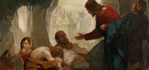 J. Kirk Richards, Cristo e i lebbrosi