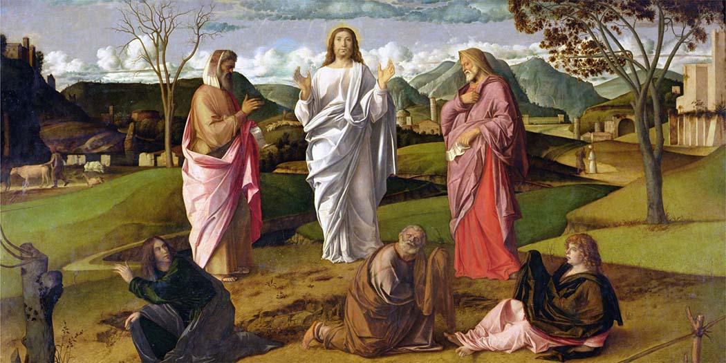 Giovanni Bellini - La Trasfigurazione di Cristo (1479 circa) - Museo nazionale di Capodimonte, Napoli