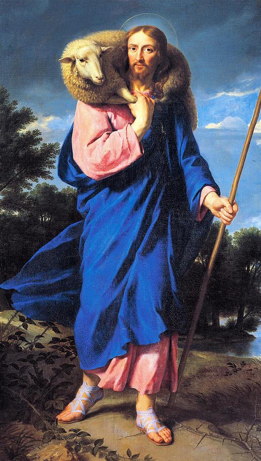 Philippe de Champaigne, Gesù Buon Pastore