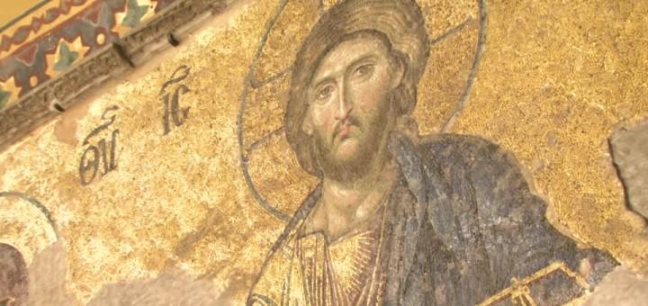Deesis XIII sec ,Basilica della Santa Sapienza, Istanbul