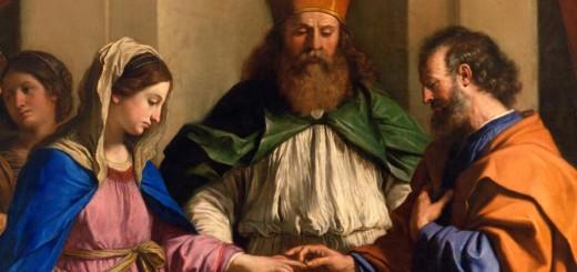 Guercino, Sposalizio della Vergine