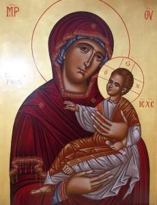 icona Madonna della pace