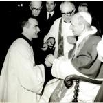 Don Luca con Paolo VI