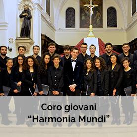 Parrocchia San Bernardino coro giovani harmoni amundi