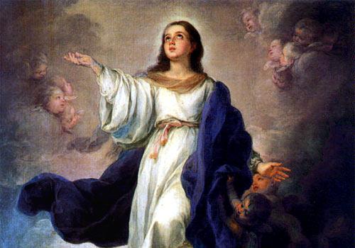 Risultati immagini per maria assunta in cielo