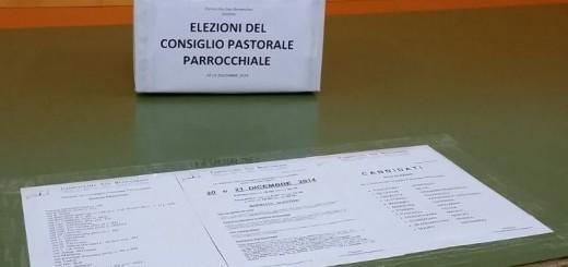 Elezioni Consiglio Pastorale 2014