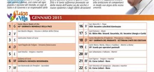 Luce&Vita - calendario 2015
