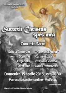 Surrexit Christus, spes mea (manifesto)