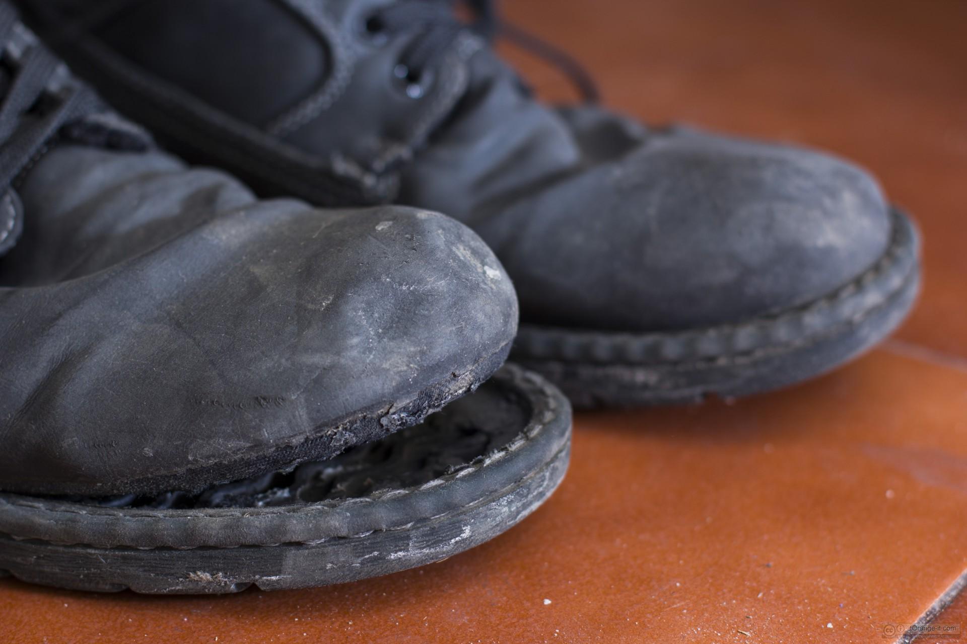 Mendicante di stivali