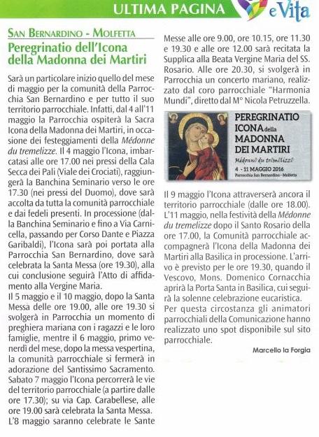 Peregrinatio - Luce&Vita