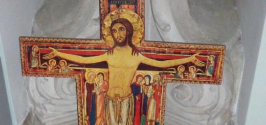 Crocifisso san Damiano - Cencoli di preghiera - Quaresima