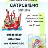 Iscrizione catechismo 2017-2018