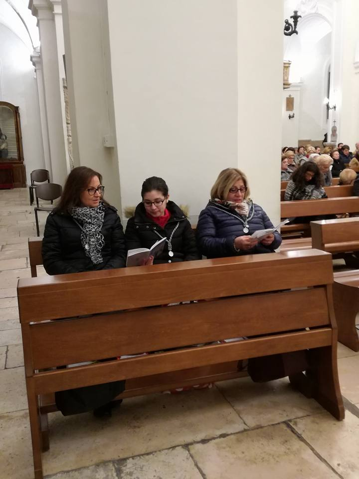 parrocchia san bernardino molfetta pia associazione dell'immacolata concezione figlie di maria