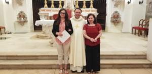 Laura - foto del battesimo con nella sancilio