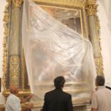 Restauro Altare S. Salvatore e statue S. Francesco S. Antonio (13)