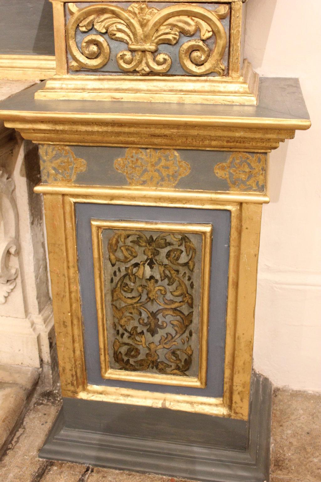 Restauro Altare S. Salvatore e statue S. Francesco S. Antonio (32)