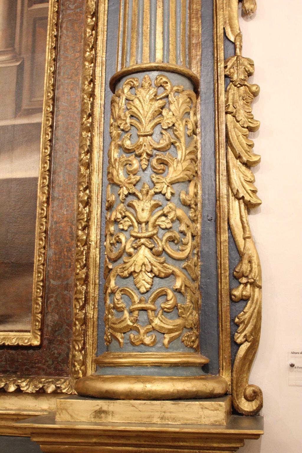 Restauro Altare S. Salvatore e statue S. Francesco S. Antonio (33)