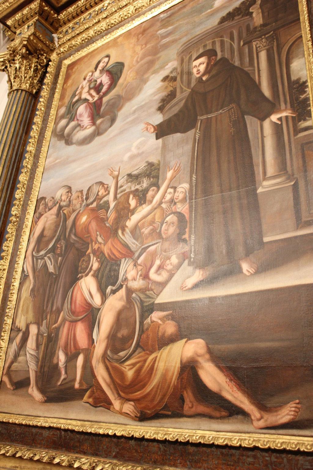 Restauro Altare S. Salvatore e statue S. Francesco S. Antonio (34)