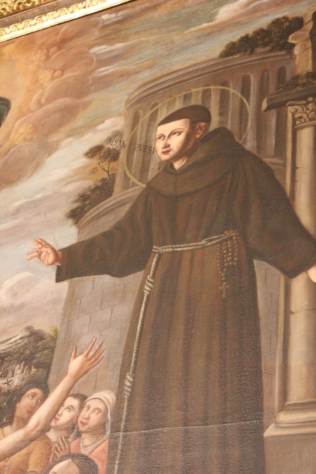 Restauro Altare S. Salvatore e statue S. Francesco S. Antonio (35)