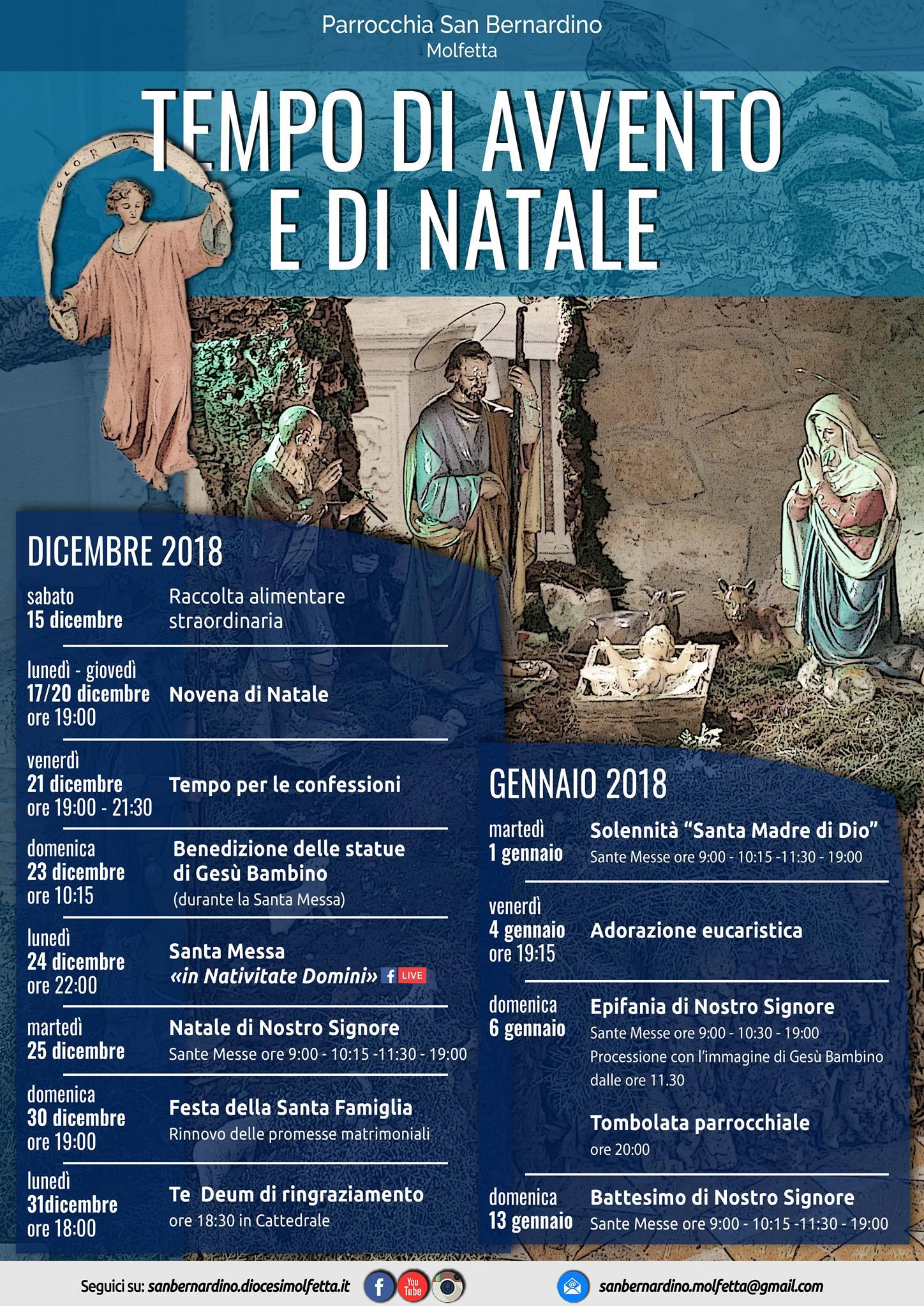 Manifesto Natale 2018