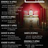 Eventi quaresimali - Settimana Santa 2019