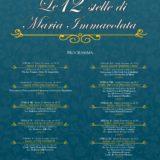Dodici Stelle 2019 - Immacolata Concezione - Parrocchia san Bernardino molfetta