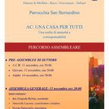 Parrocchia San Bernardino Molfetta - assemblee elezioni azione cattolica 2019