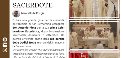 parrocchia san bernardino molfetta - giornale ComUnione - novembre 2019