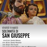 SOLENNITA SAN GIUSEPPE ANNO GIUSEPPINO PARROCCHIA SAN BERNARDINO MOLFETTA