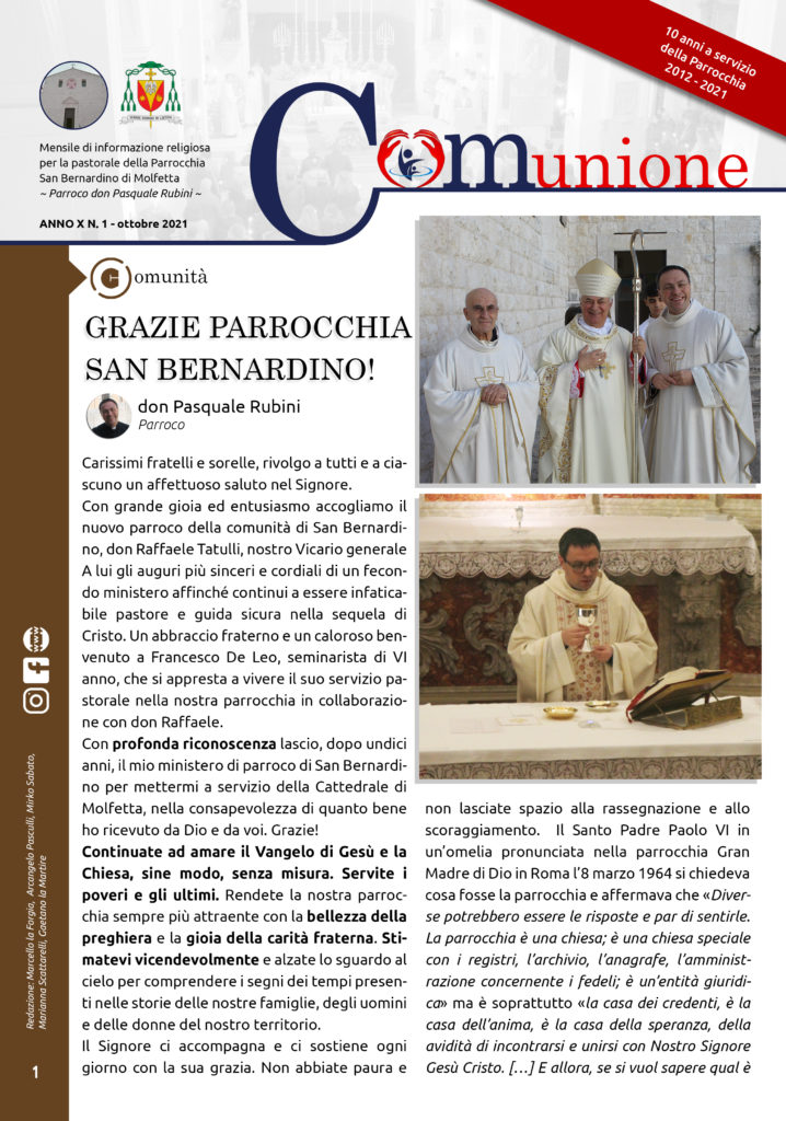 parrocchia-san-bernardino-molfetta-giornale-parrocchiale-comunione-ottobre-2021