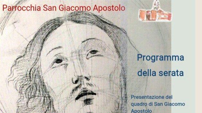 Presentazione del quadro di San Giacomo Apostolo