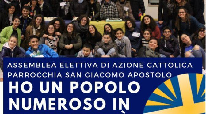 Ho un popolo numeroso in questa città: 23 e 24 Novembre l'assemblea elettiva di Azione Cattolica